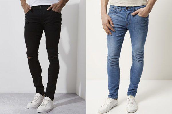 calça skinny calça slim jeans