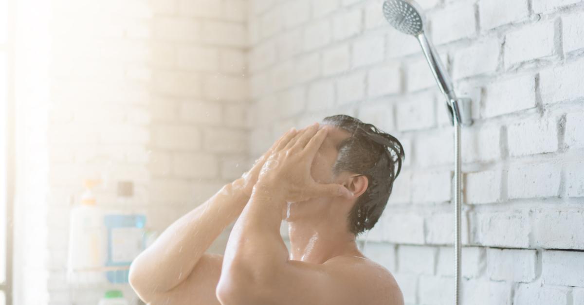 banho frio