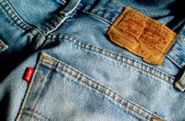 jeans cor tecido