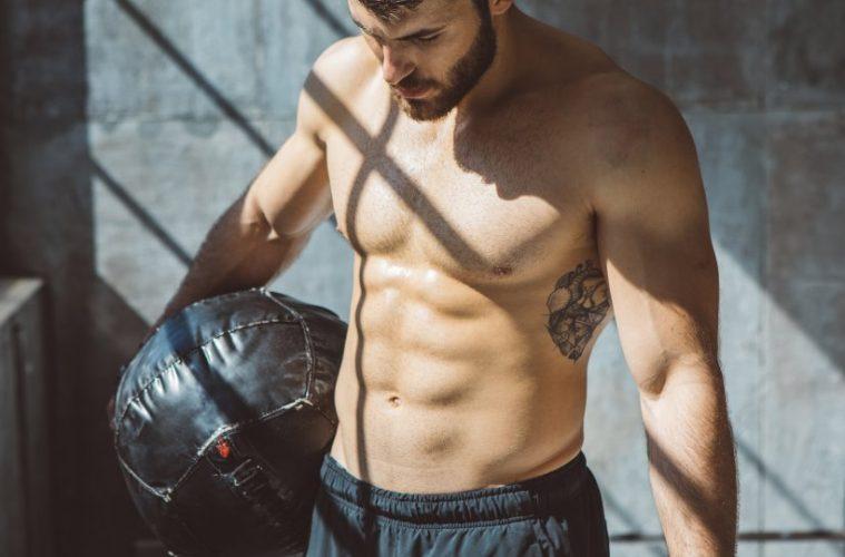 dor musculação