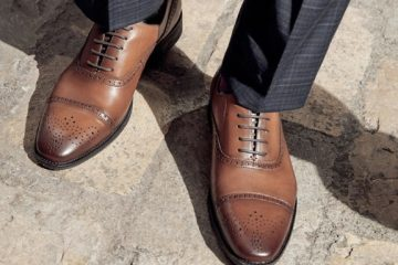 cadarço sapato social amarrar
