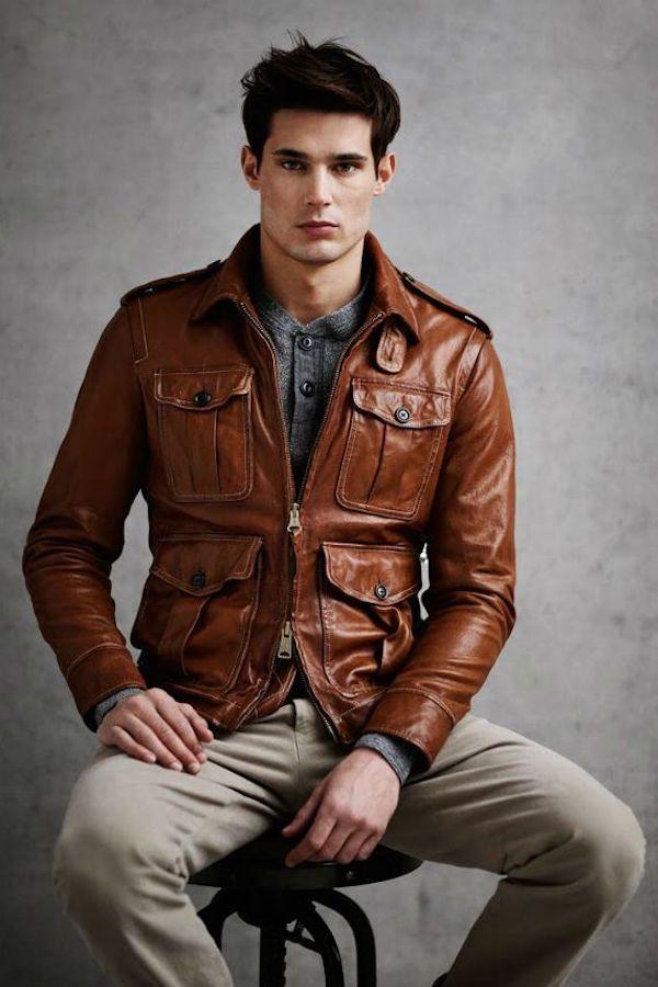 jaqueta de couro masculina 5