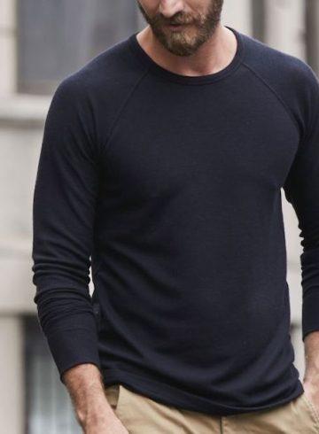 camiseta de manga comprida