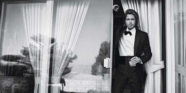 Brad Pitt looks