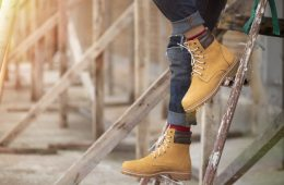 yellow boots homem