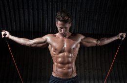 extensor elástico exercícios musculação casa