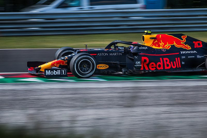 Pierre Gasly by Hungarian F1 Grand Prix