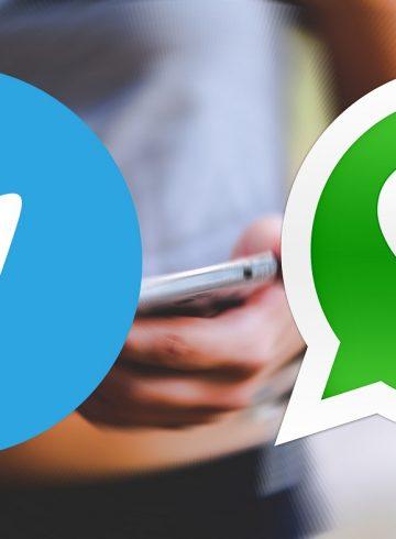 WhatsApp ou Telegram
