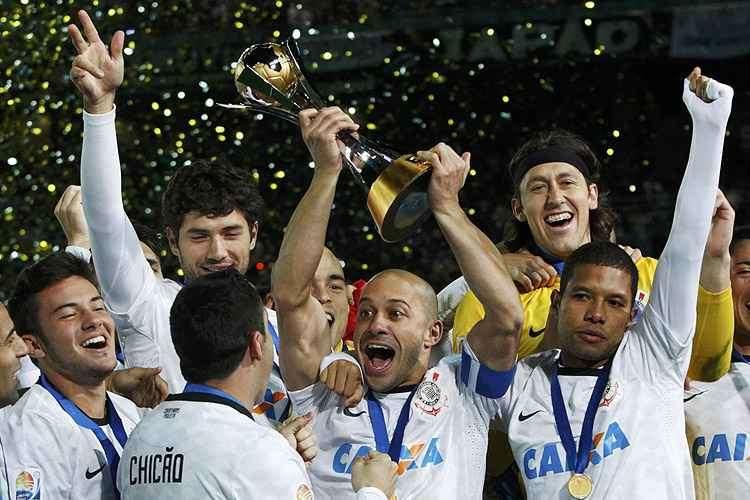 times brasileiros campeões mundiais