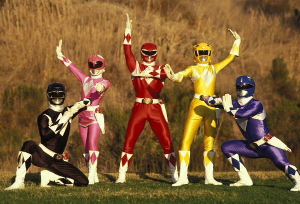 Power Rangers Reebok