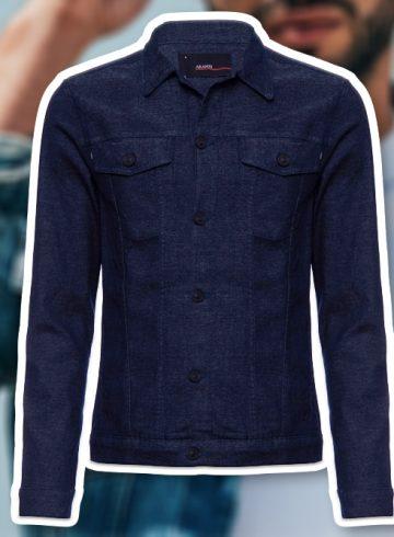 jaqueta trucker jeans