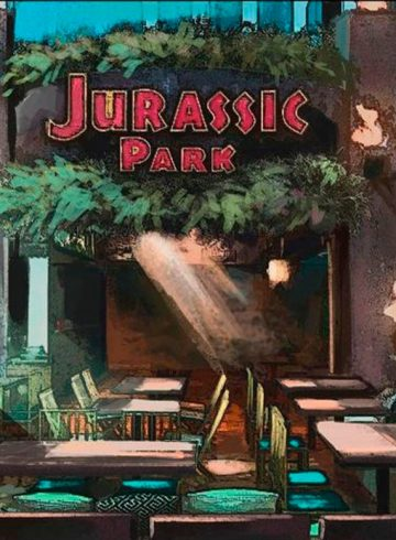 Jurassic Park Burger Restaurant
